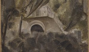 Giorgio Morandi. Paesaggio, 1913. Olio su tela