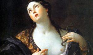 Guido Reni. Il suicidio di Cleopatra, 1625-1626 ca. Bildergalerie, Potsdam