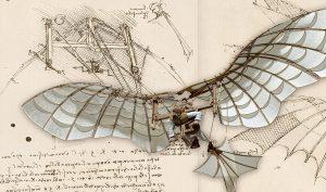 Leonardo 3. Aquila meccanica. Manoscritto