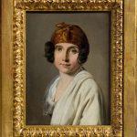 Louise-Léopold Boilly. Ritratto di Adelaide Leduc, 1805 circa. Olio su tela, cm.21,7 x 16,4 provenienza; lascito Francis Haskell, 2000. San Valentino