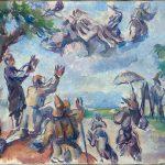 Paul Cézanne. Apoteosi di Delacroix, 1890-94. Olio su tela, cm. 27 x 35. © RMN-Grand Palais, Musée d'Orsay / Hervé Lewandowski