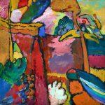 Eugène Delacroix. Wassily Kandinskij. Studio per improvvisazione V, 1910. Minneapolis Institute of Art