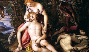 Ariosto. I Voli. Angelica e Medoro