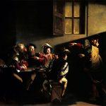 Caravaggio experience. Vocazione di San Matteo, 1599-1600. Olio su tela, cm. 322×340. Chiesa di San Luigi dei Francesi