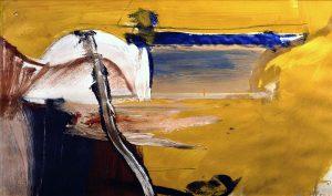 Willem de Kooning. Senza titolo, 1958. Olio su carta, cm. 58,5 X 74
