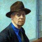 Edward Hopper. Autoritratto, 1930. Olio su tela, cm. 63X50. Whitney Museum of American Art, lascito Josephine N. Hopper. ©Eredi di Josephine N. Hopper