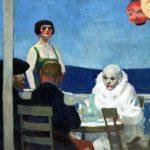 Edward Hopper. Blu notte, 1914. Olio su tela, cm. 91,4x182,8. Autorizzato da Whitney Museum of American Art, Josephine N. Hopper Lascito ©Eredi di Josephine N. Hopper