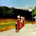 Edward Hopper. Gas, 1940. Olio su tela. Museum of Modern Art, New York