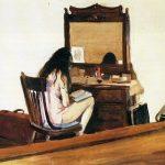 Edward Hopper. Interno, donna che legge, 1925. Olio su tela
