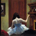 Edward Hopper. Interno a New York, 1921 ca. Olio su tela, cm. 60,9x73,6. Autorizzato dal Whitney Museum of American Art. Lascito Josephine N. Hopper © Eredi di Josephine N. Hopper