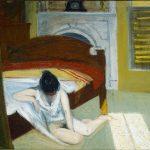 Edward Hopper.Interno d'estate, 1909. Olio su tela, cm. 60,9x73,6. Whitney Museum of American Art, New York