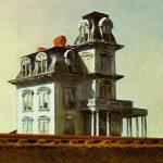 Edward Hopper. La casa lungo la ferrovia, 1925. Olio su tela. Museum of Modern Art, New York