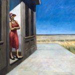 Edward Hopper.Mattinata in South Carolina, 1955. Olio su tela, cm. 78,5 x 102. ©Whitney Museum of American Art, donato in memoria di Otto L. Spaeth dalla sua famiglia