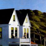Edward Hopper. Luci del sole al secondo piano, 1960. Olio su tela, cm. 101,9X127,4. Whitney Museum of American Art, New York