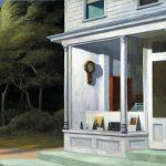 Edward Hopper. Sette A. M., 1948. Olio su tela, cm. 76.7x101,9. © Eredi di Josephine N. Hopper, autirizzato da the Whitney Museum of American Art. Acquisto e scambio