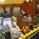 Edward Hopper. Tabelle per reparto donne, 1930. Olio su tela. Metropolitan Museum of Art, New York