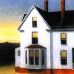 Edward Hopper. Tramonto a Cape Cod, 1934. Olio su tela, cm. 74,3x91,92. Whitney Museum of American Art, New York; © Eredi di Josephine N. Hopper