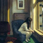 Edward Hopper.Undici A.M., 1926. Olio su tela, cm. 71.4 x 91.8. Hirshhorn Museum and Sculpture Garden, Smithsonian Institution, Washington, D.C.; Dono di Joseph H. Hirshhorn Foundation. Photograph by Lee Stalsworth