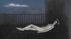 Romaine Brooks. La Venere triste, 1917. Olio su tela, cm. 167,3 X 257,8. Musées de Poitiers