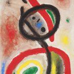 Joan Mirò. Pittura e poesia. Donna III, 1965. Fundació Joan Miró, © Successió Miró by SIAE 2016. Barcellona