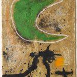 Joan Miró. Pittura e poesia. Donna al chiaro di luna, 1970. Fundació Joan Miró, © Successió Miró by SIAE 2016. Barcellona