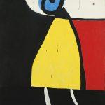 Joan Miró. Pittura e poesia. Donna nella notte, 1973. Fundació Joan Miró, © Successió Miró by SIAE 2016. Barcellona