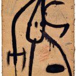Joan Mirò. Pittura e poesia. Personaggio, uccelli, 1976. Collezione privata, © Successió Miró by SIAE 2016
