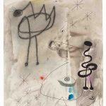 Joan Miró. Personaggi, uccello, stelle, 1942. Collezione privata, Successió. Miró by SIAE 2016