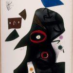 Joan Miró. Pittura e poesia. L'egiziana, 1977. Fundació Joan Miró, © Successió Miró by SIAE 2016. Barcellona