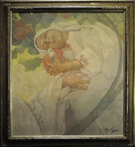 Alfons Mucha. Madre e figlio. Foto Katarte