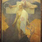 Alfons Mucha. La Francia abbraccia la Boemia, 1918. Olio su tela, cm 122x105. © Mucha Trust 2016, Foto Katarte