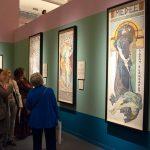 Alfons Mucha. Veduta della mostra al Vittoriano. Foto Katarte