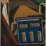 Giorgio de Chirico. Il pomeriggio soave, 1916. Olio su tela, cm 65,3 x 58,3. Venezia, Collezione Peggy Guggenheim