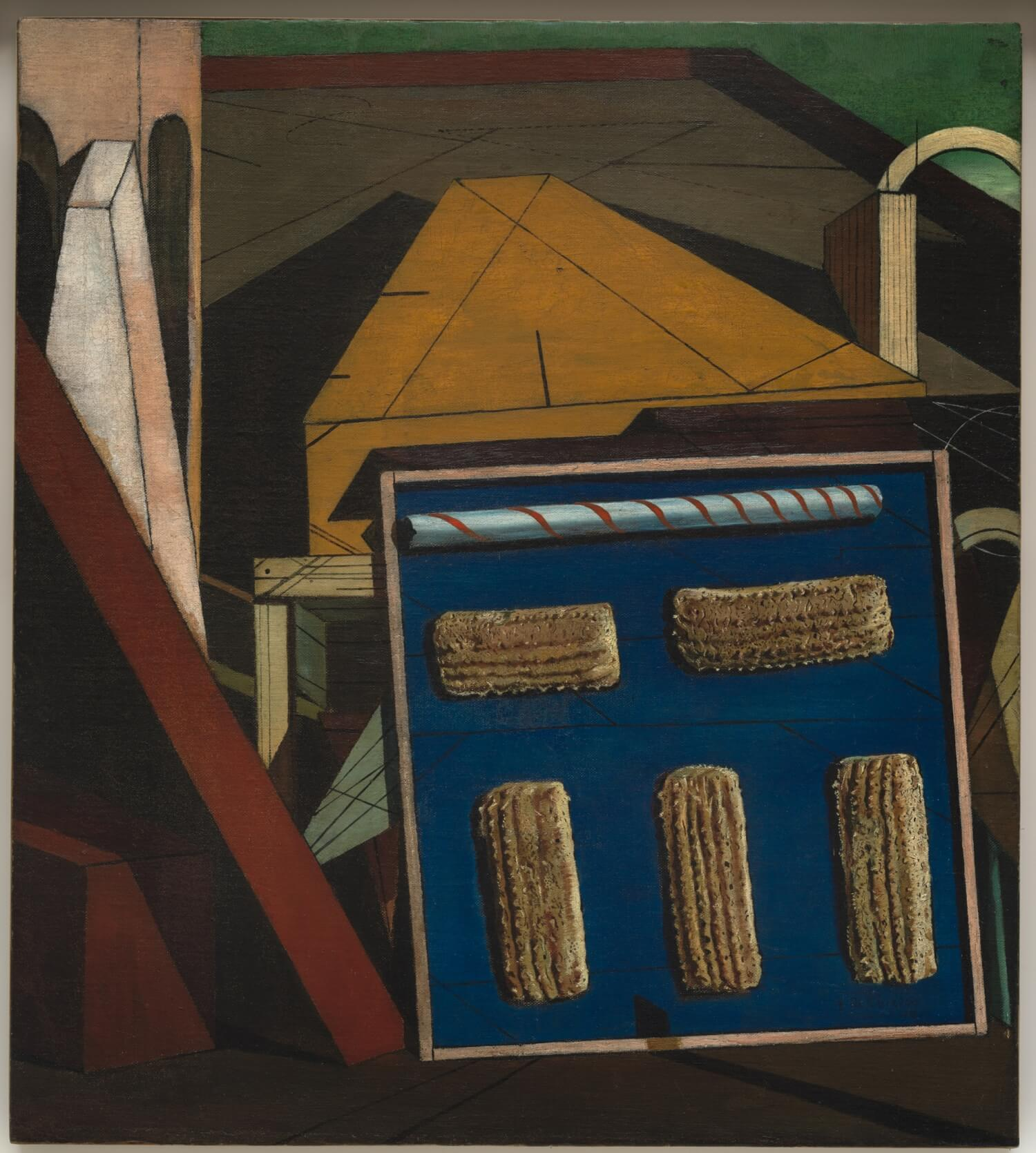 Da Kandinsky a Pollock. Alexander Calder. Gong rossi gialli e blu, 1951. Lamiera dipinta e fil di ferro, cm 135 x 220 x 170. Venezia, Galleria Internazionale di Arte Moderna, Cà Pesaro. Dono dell'artista, 1952