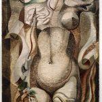 Da Kandinsky a Pollock. André Masson. L'armatura, 1925, olio su tela. Collezione Peggy Guggenheim, Venezia/Ph. David Heald © André Masson by SIAE 2016