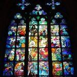 Alfons Mucha. Finestre di vetro colorato nella Cattedrale di San Vito a Praga