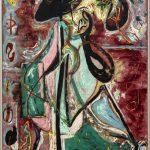 Da Kandinsky a Pollock. Jackson Pollock. La donna luna, 1942. Olio su tela, cm 175.2 x 109.3. The Solomon R. Guggenheim Foundation. Peggy Guggenheim Collection, Venezia