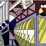 Da Kandinsky a Pollock. Roy Lichtenstein. Preparativi, 1968. Olio e acrilico Magna su tre tele unite, cm 304,8 x 548,6. New York, Museo Solomon R. Guggenheim