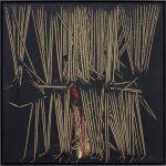 Scanavino. Tramatura, 1975. Olio su tela, cm 60x60