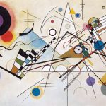 Da Kandinsky a Pollock. Vasily Kandinsky. Composition 8, 1923. Olio su tela, cm 140 x 201. Solomon R. Guggenheim Museum, New York Solomon R. Guggenheim Founding Collection, by gift. 2016