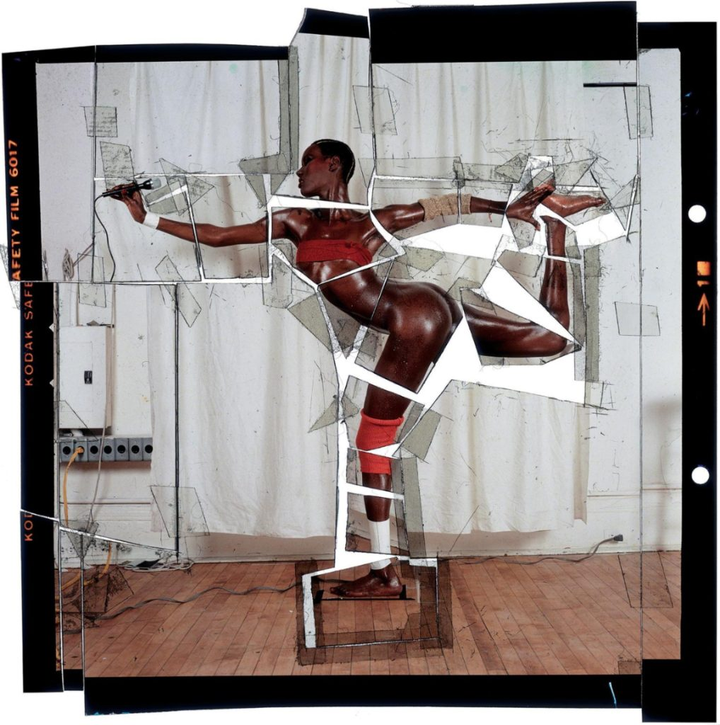 So Far So Goude. Jean-Paul Goude. Grace, revised and updated. Cut Up, 1978 - © Jean-Paul Goude
