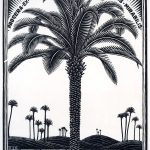 Escher a Milano. Escher. Emblema VI, Palmboon, 1932. Xilografia, cm 18x14. Collezione Giudiceandrea Federico All M.C. Escher works © 2015 The M.C. Escher Company. All rights reserved