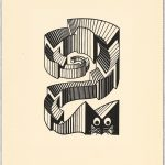Escher a Milano. Escher. Mouse, 1953. Incisione, cm 10x7. Collezione Giudiceandrea Federico All M.C. Escher works © 2016 The M.C. Escher Company. All rights reserved