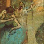 Edgar Degas. Ballerina che regola la spallina del Tutù, 1885-1905. Olio su tela, cm 78.7 x 50.8. The Art Institute of Chicago