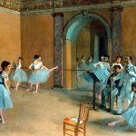 Edgar Degas. Foyer de danse a l'Opéra, 1872. Musée d'Orsay, Parigi