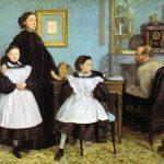 Edgar Degas. La famiglia Bellelli, 1858-67. Musée d'Orsay, Parigi