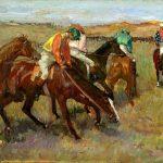 Edgar Degas. Prima della corsa, c. 1882. Sterling and Francine Clark Art Institute Williamstown (MA)