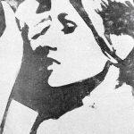 Giosetta Fioroni. Ragazza TV, 1964. Matita e smalto alluminio su carta