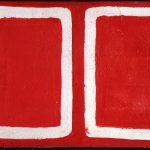 Tano Festa. A Raffaele, 1960. Acrilico e carta applicata su tela