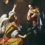 Artemisia Gentileschi. Annunciazione, 1630. Olio su tela, cm 257x179. Credits: Napoli, Museo di Capodimonte